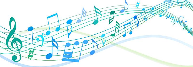 音楽を決める